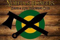 Norfolk Flingers Logo